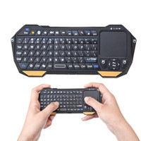 Wholesale Mini Portable Wireless Bluetooth Keyboard Version Built in Multi Touchpad Connect for iphone s pc android QWERTY SEENDA IS11 BT05
