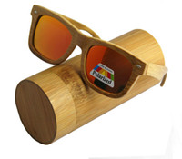 Fashion bamboo - 2016 Bamboo sunglasses wooden Sunglasses wooden glasses with polarized lens excellent products fashion eyewear