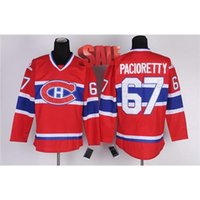 Wholesale Canadiens Max Pacioretty Jersey Red Hockey Jerseys Brand Montreal Jersey Mens Uniforms Sports Shirts Name Number Stitched Hockey Shirts