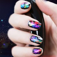 beauty scenery - DIY Nail Art Decoration Tool Beauty Nail Stickers Decal Tips Pretty Attractive Scenery Nail Foils