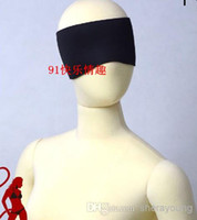 Wholesale Black Pink Red Eye Masks Eye Blindfold BDSM Sex Toys Adult Products XLYE009 XLYE010 XLYE011