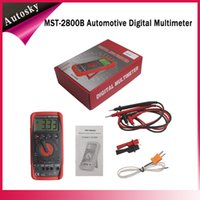 best automotive multimeter - 2015 New Arrival MST B Intelligent Automotive Digital Multimeter With Best Quality