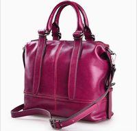handbags - The new Europe leather bag leather bag shoulder bag diagonal package handbags handbags for women bags for women handbag desigual bags