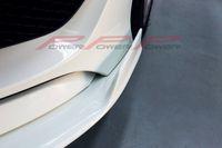 Wholesale Car styling Fiber Glass Front Splitter For Mercedes Benz CLA250 CLA260 CLA45AMG