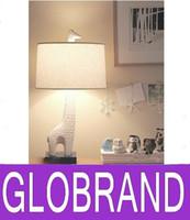 Wholesale New Creative Table Lamp Giraffe Style Dimmer Nordic Modern Children Bedside Decoration Luminaire E27 V GLO63