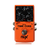 Wholesale NUX Time Core Guitar Effect Pedal Delay Effects Pedal True Bypass Guitar Effects Guitar Accessories