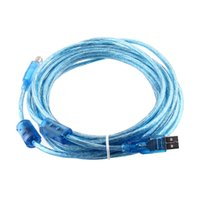 USB cable de la impresora 2.0 AB ESCÁNER DE EPSON CANON 16 FT C162BL 100pcs / lot DHL freeshipping