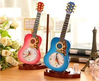 Wholesale Creative Personalized Retro Alarm Clock Color ABS Plastic Silent Clock Great Gift for Students Kids