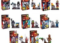 Cheap 80pcs lot SY257 Guardians of the Galaxy figures camora star lord  Rocket raccoon ronan Groot Building Block bricks action toy