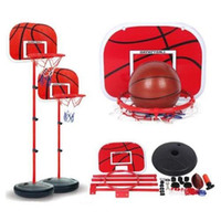 basketball goal nets - New Portable Iron Basketball Hoop Kids Toys Indoor Outdoor Junior net Goal Adjustable