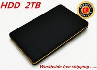 Wholesale Free shopping External Hard Drive TB HDD Hard disk USB2 hdd extern GB Mobile Hard Disk Drive Hard Drive quot Portable