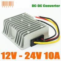 dc converter 24v 12v - DC Boost Module Converter V to V DC DC Converter A W Step Up Power Converters Regulators Waterproof