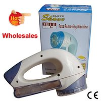 Wholesale Wholesales Battery Operated Electric Lint Remover can easy Remove Fuzz Lint and Pills of Knitted Sweater Woolen Clothes