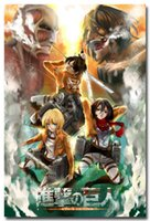 attack spray - Attack On Titan Characters Anime Art Silk Fabric Poster Print x36 quot