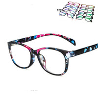 Wholesale Fashion Tide Frame Glasses Anti Fatigue Plain Glasses Super Light Bent UV400 eyeglasses Frames