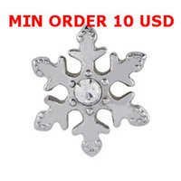 Cheap SNOWFLAKE charms Best magnetic glass