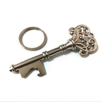 beer uk - 200pcs HouseHolds Novelty Mini UK Suck KeyChain Key Chain Beer Bottle OPENER Bottle Opener Coca Can Opening tool