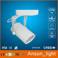 Wholesale China supplier clothing store led track light housing exhibition lamp high power W W W led track light spot lamp outdoor using