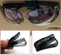 Wholesale Car glasses clip sun shading board eye frame car purse documents folder auto supplies glasses clip