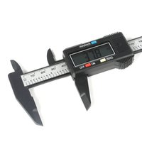 Wholesale 150mm inch Micrometer LCD Electronic Digital Gauge Stainless Vernier Caliper