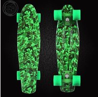 Wholesale New Original Graphic series quot Custom Peny Skateboard Retro Mini Skate long board cruiser longboard complete skates