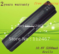 Wholesale Lowest price Lapop Battery for HP DV4 DV4T DV4Z DV5 DV5T DV5Z DV6 HSTNN IB73 HSTNN LB72 tracking number