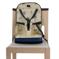 Wholesale Portable Booster Seat Toddlers High Dining Baby Chair Booster Baby Safty Chair Seat Bag Colors Available