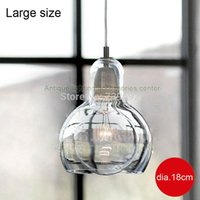 No amber lamp shade - dia cm amber clear glass E27 w edison bulb Bar table brief glass pendant light lamps with transparent glass lamp shade