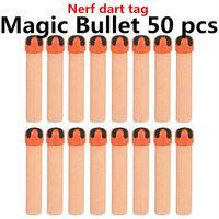 magic bullet - Free Global dart tag nerf Adhesion bullet crossed cruciform sticky viscous MAGIC TAPE soft gun bullets darts not guns