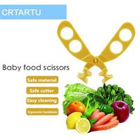 Wholesale 2016 baby food scissors Carter rabbit multifunctional baby food supplement scissors food Feeding Supplies for sales A022109