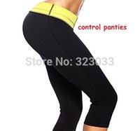 slimming pants shaper - Hot selling body Shapers control panties stretch neoprene slimming pants body shaper fast shipping