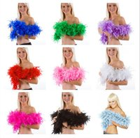 best party costumes - Best Feather Boa Fluffy Flower Craft Costume Dressup Wedding Party Home Decor