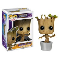 Wholesale Funko POP Guardians Of The Galaxy Groot Vinyl Bobble Head Marvel Action Figure NEW