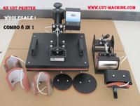 heat press machine - NEW IN COMBO HEAT PRESS MACHINE ALL IN ONE MUG PRESS PLATE PRINT CAPS TRANSFER DIY IMAGE TRANS PRESS CLOTHING MACHINE