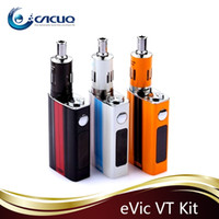 Cheap Single evic vt Best Black Metal joyetech evic vt kits