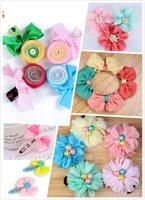 big hair flowers - 2pcs Princess Kids Baby Hair Clip Girls Big Flower Bead Hair Wear Accessories Color Free Drop Shipping