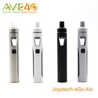 air flow black - Anthenic Joyetech eGo Aio Electronic Cigarettes Starter Kit With BF ss316 mAh ego aio Battery ml Capacity Top Air Flow Never Leak
