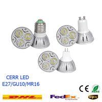 Wholesale 10pcs high power W led cup lamp e27 led bulbs e14 candles light mr16 led spotlights