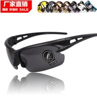 Wholesale New Creative High Quality Sports Sunglasses UV400 Protection Fashion Polarized Driving Glasses Yellow For Men jk9011