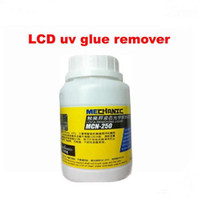 Wholesale Freeshipping ml Mechanic MCN LCD uv glue remover for LOCA glue samsung iphone and other screen separator mahine