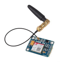 arduino gsm - High Quality SIM800L GPRS GSM Board Quadband QUAD BAND L shape Antenna for MCU Arduino TOP Russia US Ukraine Spain