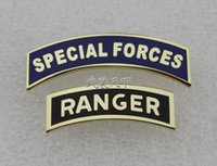 art distribution - U S special forces FORCES SPECIAL Rangers RANGER qualification metal chapter ASU distribution