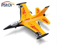 Cheap Wholesale-RC Fighter F16 Fixed wing 4ch remote control plane remote control fighter glider EPP Shatter Resistant RC plane model toy