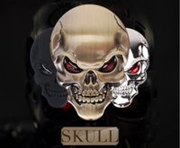 Wholesale Car Styling Tank stickers Punisher Skull Car Wheel Center Hub Cap Sticker Emblem Decal