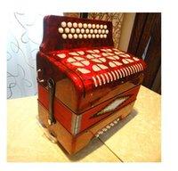 Wholesale DHL Key popular small accordion key bass firston professional accordion