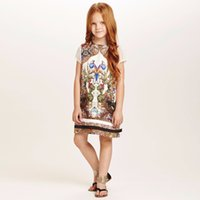 american color print - Wlmonsoon Kids Clothes Girls Dresses Brand Girls Summer Dress Princess Costume Animal Floral Print Kids Dresses for Girls Clothes
