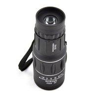 Wholesale Black x52 Dual Focus Zoom Optic Lens Armoring Monocular Telescope For Camping Bird Outdoor Sport