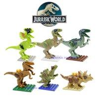 Wholesale Jurassic World Jurrassic Park Dinosaur Building Block SL8916 Bricks Toy VS The Avengers Star Wars Toys Story Super Heroes