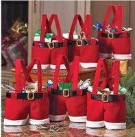 Wholesale Hotsale Christmas Gift Christmas Wedding Candy Bags Christmas Stocking style