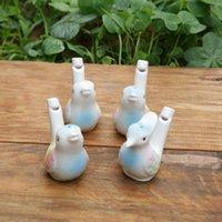 Wholesale dropship new arrival water bird whistle clay bird ceramic bird whistle peacock